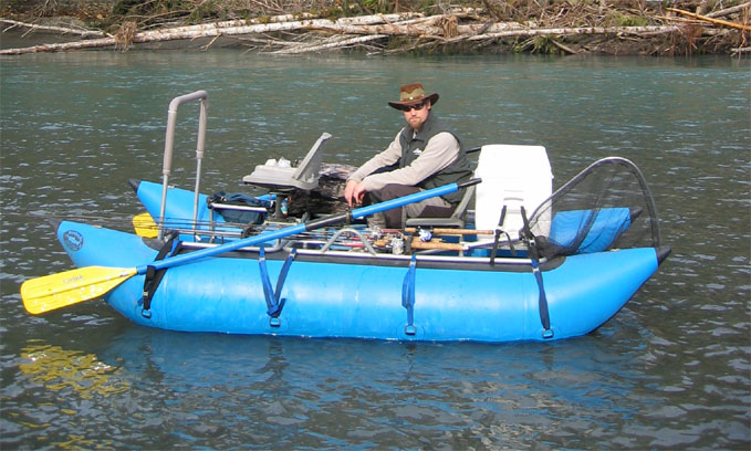 Need input on pontoon washington fly fishing for Fly fishing pontoon