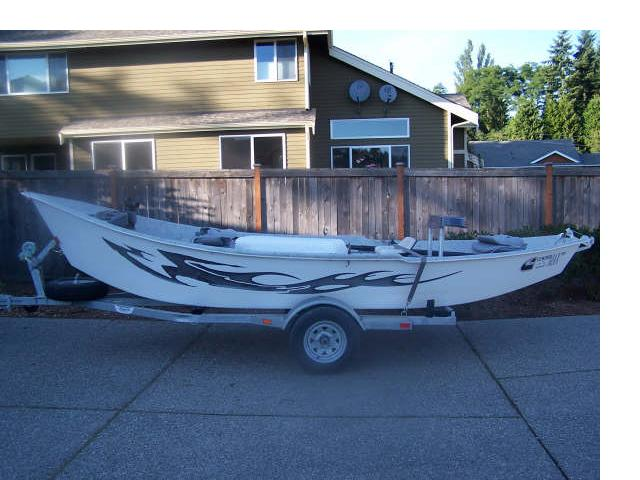 2007 Clackacraft 18 Drift Boat New Price The Outdoor