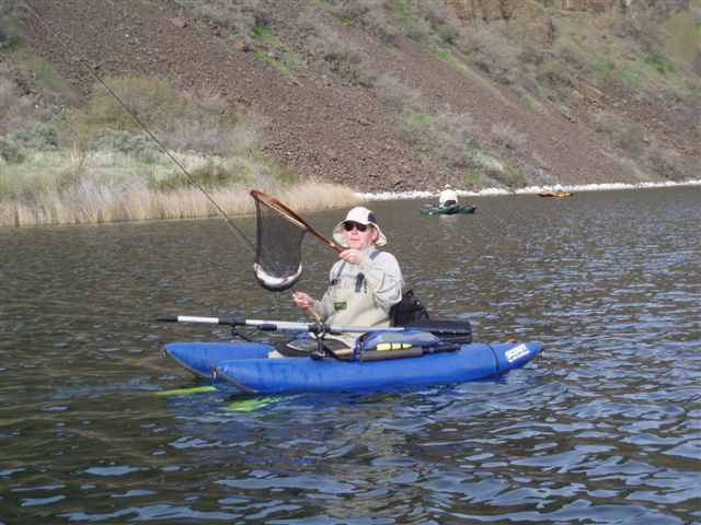 Dry falls report fins 39 n feathers piscatorial pursuits for Falls lake fishing report
