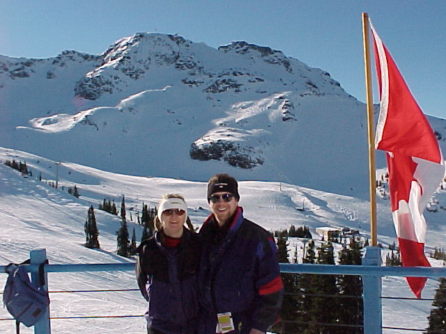 Bob's brother Jon and his girlfriend Tina join us for a week-end at Whistler.