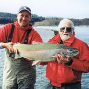 Bob & Grover with 29.5 pounds of OP steelhead!