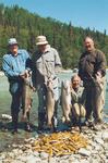 The boys from Fluke do a number on the razors and some late May king salmon on a full day combination trip.