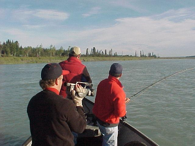 "A silver doubleheader makes for some exciting footage for the NW fishing show, ""Fisherman's Heaven""."