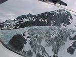 Aerial glacier views, some of what you might see from the plane on a fly-out.