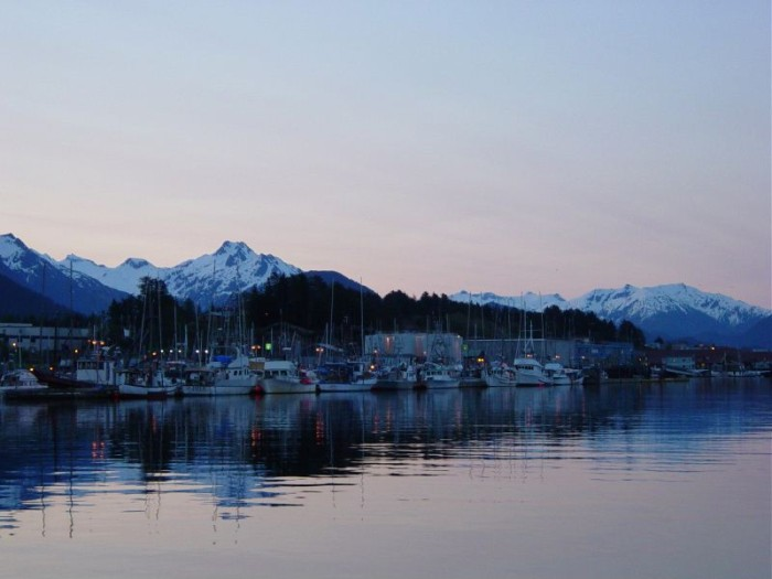 Sitka Harbour early morning