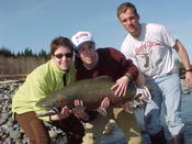 Wow! Now that is a steelhead!
