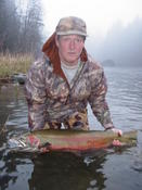 Because here's the same steelhead again, the following day!
