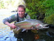Trophy-class steelhead from the Hoh River.