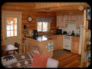 Small ideas log home 39 s cabins decore pinterest for Small cabin kitchen designs